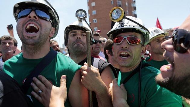 Protesta minera en España: 40 días encerrados a 3.000 metros de profundidad