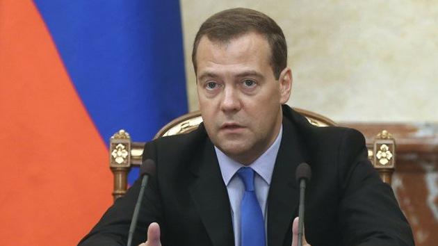 """Medvédev: """"Rusia tomará medidas ante los riesgos de la Asociación UE-Ucrania"""""""
