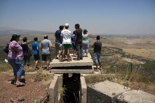 El conflicto sirio: una atracción turística para Israel