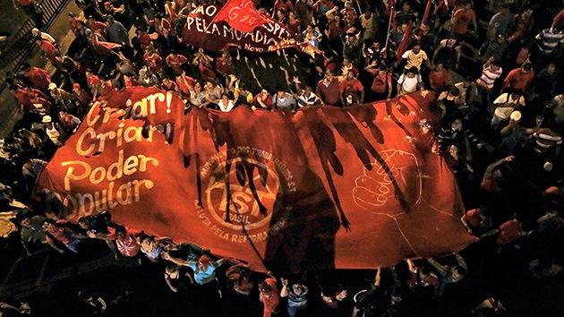 Fotos: Brasil vive una nueva jornada de protestas contra el Mundial