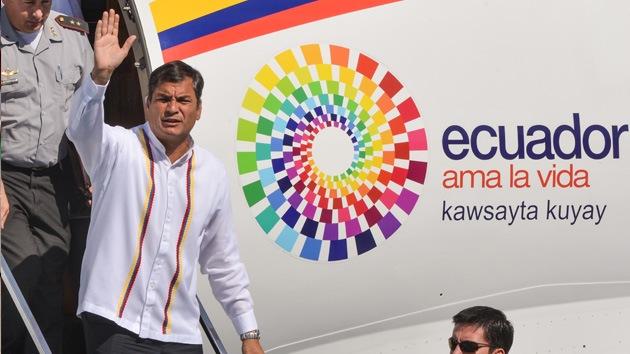 Rafael Correa: El proceso revolucionario debe continuar, incluso sin Chávez