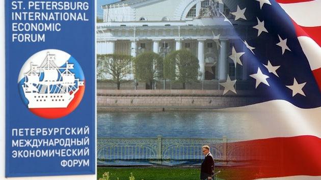 """""""EE.UU. se castiga a sí mismo si boicotea el Foro Económico de San Petersburgo"""""""
