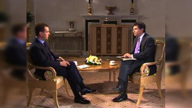 "Entrevista del Presidente ruso Dmitri Medvédev para ""ABC News"""