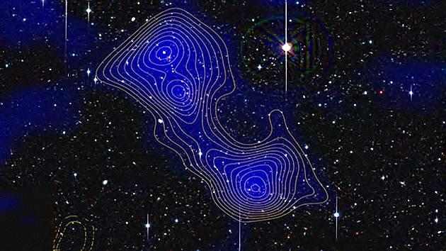 Autopistas intergalácticas: detectan el hilo de materia oscura que une a las galaxias