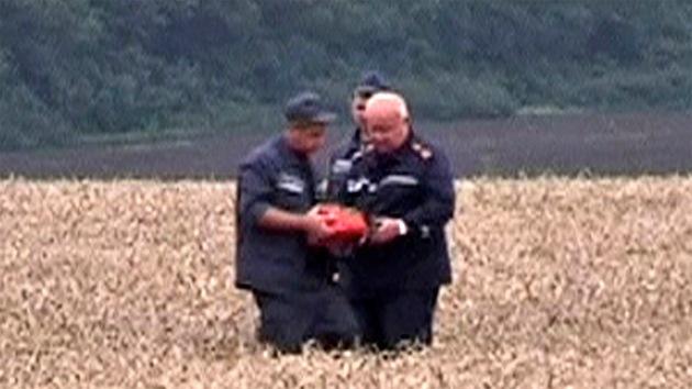 Las autodefensas de Donetsk entregan a las autoridades malasias las dos cajas negras