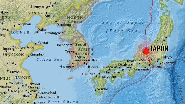Un fuerte sismo de magnitud 6,8 sacude Japón