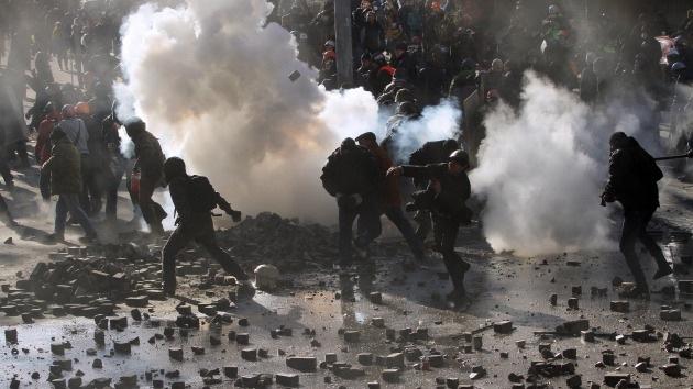 Kiev, entre sangre y fuego