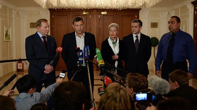Plan para Ucrania: retirada de armas, intercambio de detenidos y apertura de corredores humanitarios