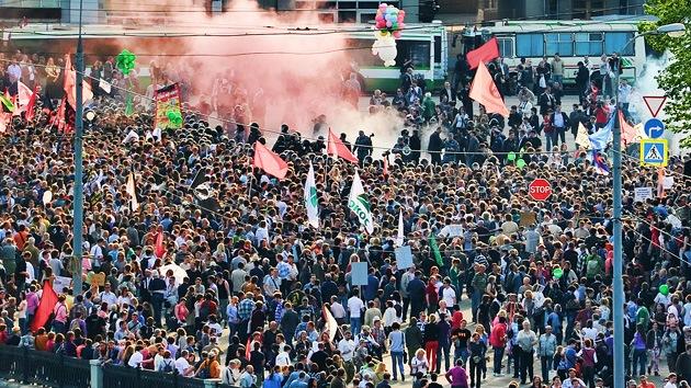 Las manifestaciones serán 'suprimidas' a golpe de multa