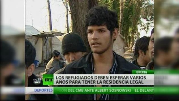 Los refugiados en Grecia viven en condiciones extremas