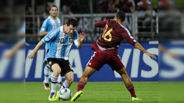 Victoria pionera de Venezuela a la Argentina de Messi