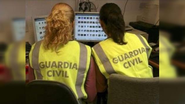 La policía española descubrió una red de tráfico de pornografía infantil