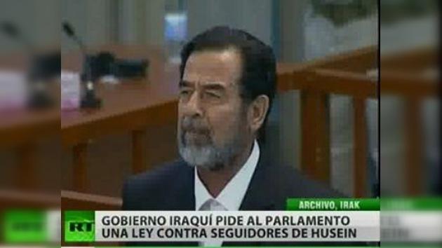 El Gobierno iraquí quiere endurecer los castigos a los seguidores de Saddam