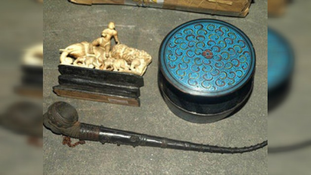 Decomisan en México 39 piezas antiguas del patrimonio cultural de Singapur