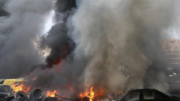El Líbano es atacado por cinco cohetes