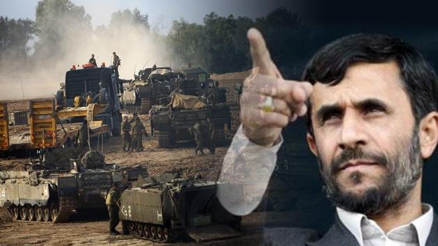 Ahmadineyad: Israel se basa en la ocupación, la guerra y el derramamiento de sangre