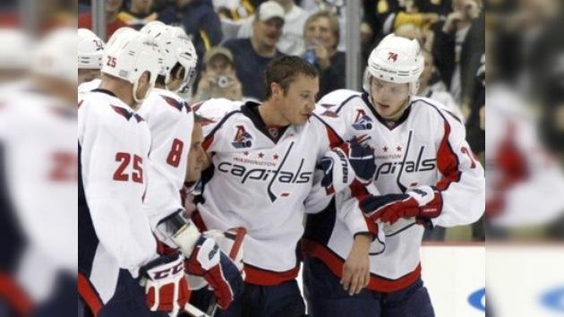 Washington y Pittsburgh rinden homenaje al Lokomotiv en la NHL