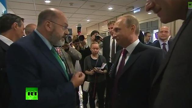 """Putin: """"Occidente no quiere ver el verdadero objetivo de las autodefensas en Ucrania"""""""