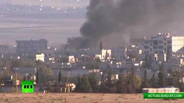 Los kurdos resisten el asedio del Estado Islámico a Kobani