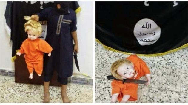 El Estado Islámico enseña a los niños a decapitar utilizando muñecas