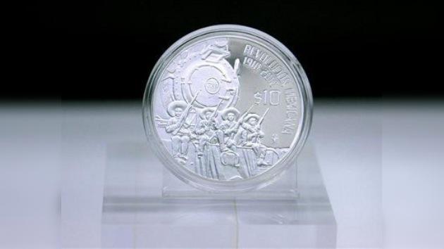 Moneda del centenario de la Revolución Mexicana, la más bella del mundo