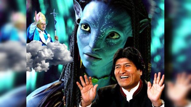 Avatar: el aplauso de Morales y crítica del Vaticano