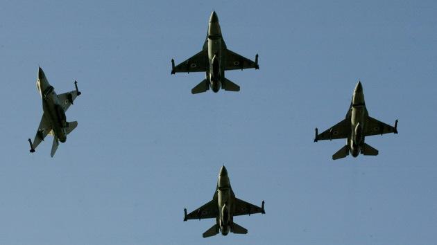 Ensayo internacional: 100 aviones caza prepararán en Israel un ataque contra Siria