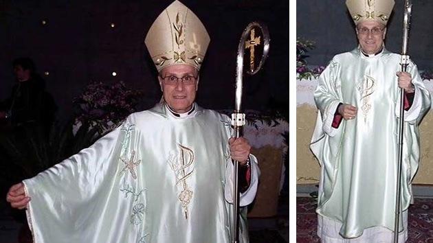 Obispo siciliano oficia vestido de Armani en plena crisis