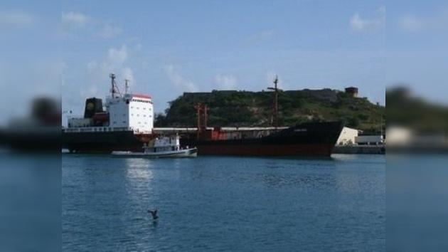 Liberan a la tripulación rusa del petrolero detenido en Puerto Rico
