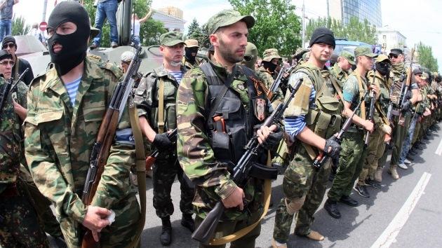 80 soldados ucranianos se rinden ante las autodefensas de Lugansk