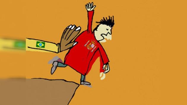 Brasil desplaza a España del primer puesto del ranking de la FIFA