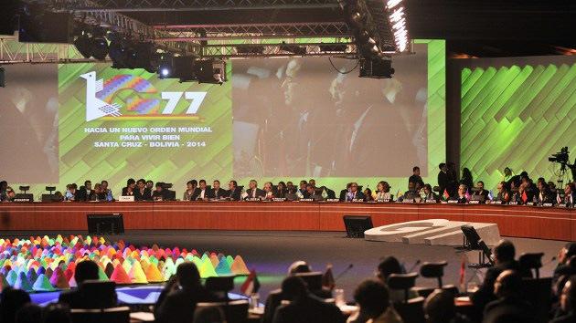 """Nicaragua llama a """"exorcizar al mundo del capitalismo"""" en la Cumbre G77+China"""