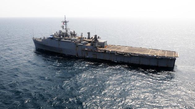 Irán: Si una bala vuela sobre el Golfo Pérsico, los barcos de EE.UU. no saldrán de allí