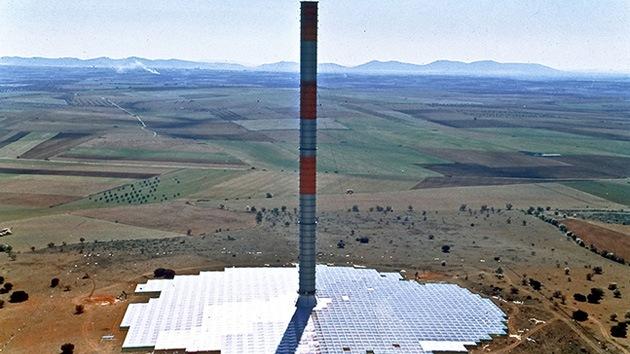 'Torre solar inflable': un proyecto de energía límpia para el observatorio ALMA de Chile