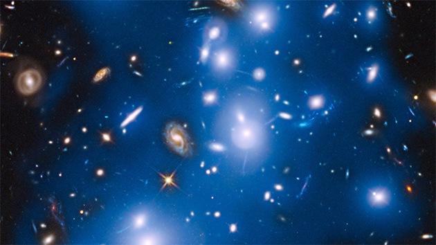 La Nasa publica una imagen de la luz fantasma de estrellas de galaxias muertas