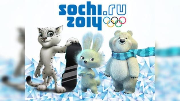 Sochi 2014 tendrá tres mascotas: el Leopardo, el Oso Polar y la Liebre