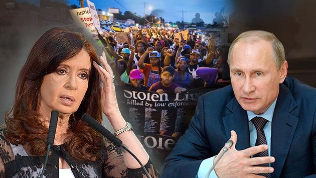 Balance semanal: Rusia contra la guerra de sanciones, Argentina critica los fondos buitre, estado de emergencia en Ferguson