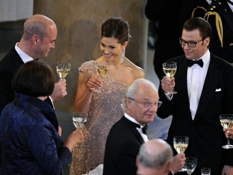 Princesa Victoria de Suecia contrae matrimonio con su ex entrenador Daniel Westling