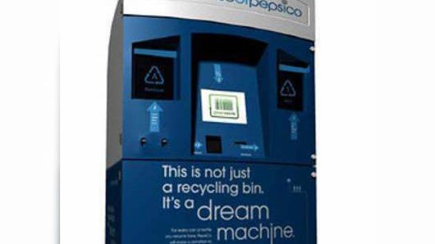 Pepsi inventa una máquina de reciclaje para sus latas
