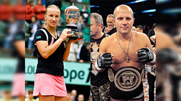 Yemeliánenko y Kuznetsova son los mejores deportistas rusos del año