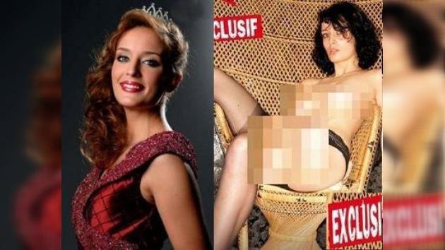 Miss París 2009 perdió su corona por desnudarse