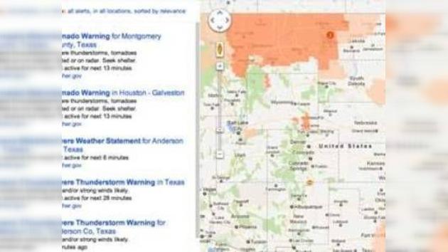 Google lanza un nuevo servicio que  informa sobre catástrofes