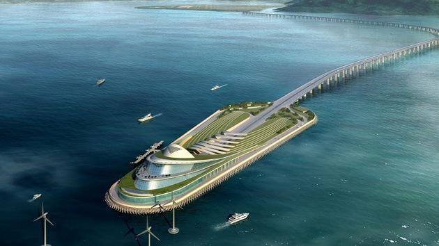 China construirá el túnel subacuático más largo del mundo