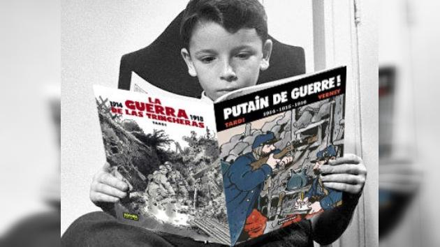 Los horrores de la guerra para los jóvenes a través del cómic
