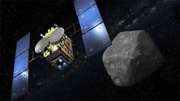 Japón lanza un programa de 'bombardeo' de asteroides