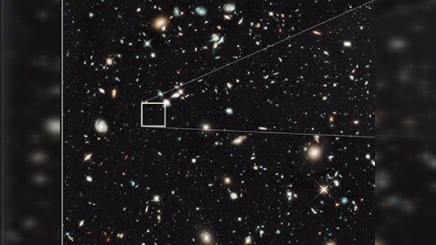 El telescopio Hubble detecta una galaxia más remota de las conociadas