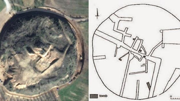 Descubren un sorprendente laberinto subterráneo de tumbas en Grecia