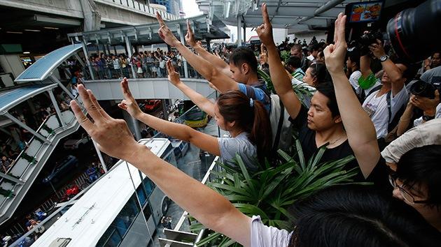 Fotos: Tailandia protesta con tres dedos en alto al estilo de 'Los Juegos del Hambre'