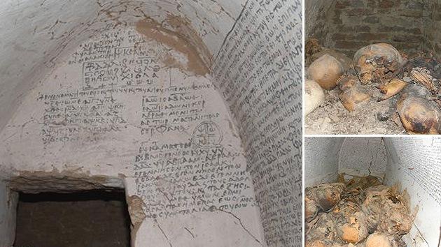 Hallan siete momias en una cripta de un reino cristiano perdido