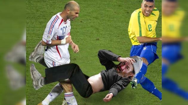 Zinedine Zidane y Ronaldo jugarán al fútbol contra la pobreza